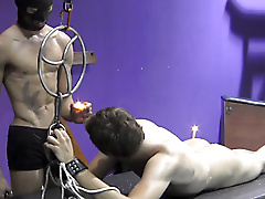 mask restraints flogging