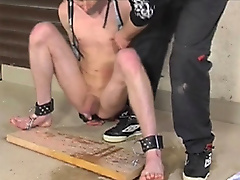restraints assplay toys dildo piss handjob