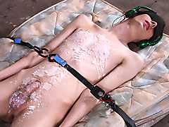 restraints masturbation sensory deprivation