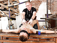 sebastian kane blake handjob fetish masturbation twinks shaving brown hair trimmed uncut average dick short jerked lube play location british blindfold rope edging grey