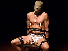 restraints mask pegs bound