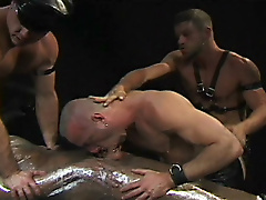 piercing bdsm leather tats
