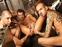 ivan alonso jhony turbo leon jalif studios blog jalifstudio threeway 3way threesome 3some threeways 3ways threesomes 3somes toilet bathroom fetish porn kink kinky pissing watersports pigs piggy masculine muscular muscled spanish latin spanking buzzed heads stubble skinny tattoos socks sneakers smooth uncut dicks cocks dick cock jerking masturbation sucking oral rimming spitting rough play fucking kissing shaved pubes balls smoking cigarettes drinking beer piercings pierced nipples cockrings anal condoms safe tagteam toys butt plugs fingerfucking facials