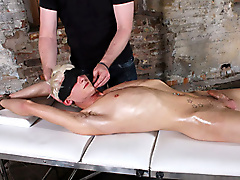 electro stimulation restraints rope blond