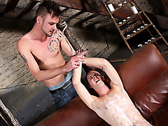 bondage restraints face fucking