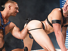leather fetish fisting anal buttplay toys rosebud