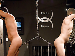 restraints chains threesome dick boots masks