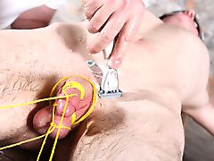 ashton bradley calvin croft bondage domination fetish pissing british blond hair twinks large dick uncut chains cock ball torture hotncold humiliation
