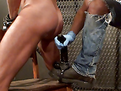 boots dildo ball restraints extreme play jerk