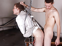 restraints chains bondage massage forced hand